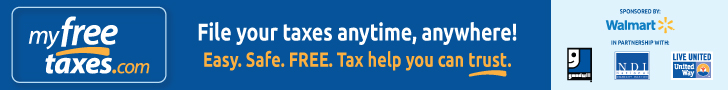My Free Taxes Banner Ad